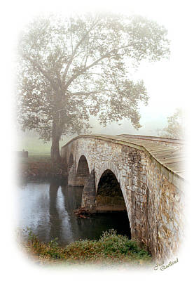 Photograph - Foggy Morning At Burnside Bridge by Judi Quelland
