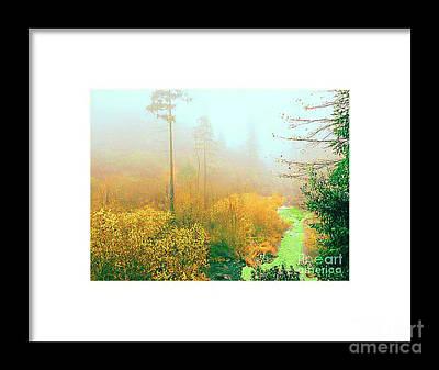 Photograph - Foggy Morning by Merton Allen