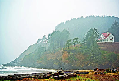 Photograph - Foggy Pacific by Dale Stillman