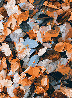 Painting - Foliage Carpet  by Andrea Mazzocchetti