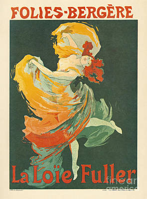 Painting - Folies Bergere by Granger