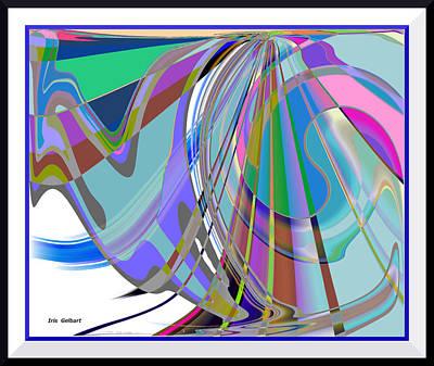 Digital Art - Follow by Iris Gelbart