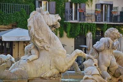 Photograph - Fontana Dei Calderari by JAMART Photography