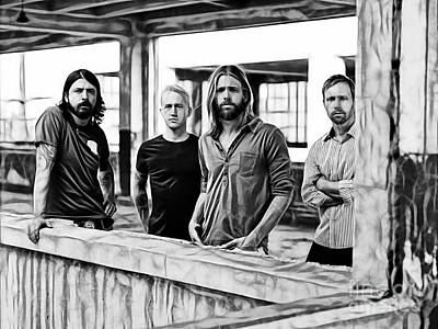 Foo Fighters Collection Art Print