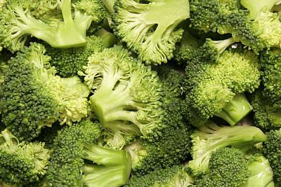Broccoli Digital Art - Food Broccoli                     by F S