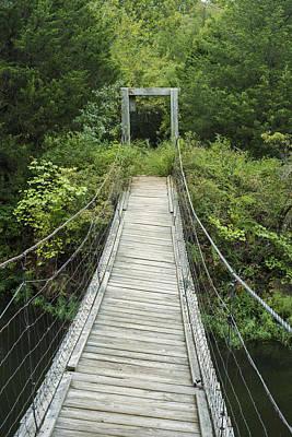 Photograph - Foot Bridge by Robert Potts