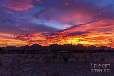 Photograph - Foothills Sunrise by Robert Bales