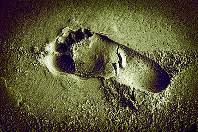Photograph - Footprint In The Sand by Patrick Kain
