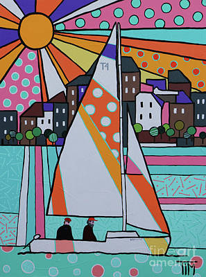 For Sail Art Print by Tim Ross