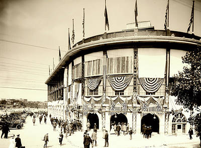 Photograph - Forbes Field Pittsburgh 1905 by L O C