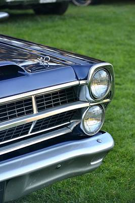 Photograph - Ford Headlight by Dean Ferreira