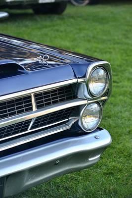 Photograph - Ford Headlight by Dean Ferreira