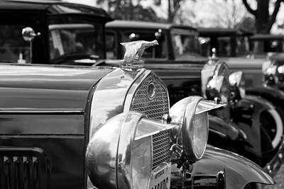 Photograph - Ford Model A Flying Quail  by Susan Rissi Tregoning
