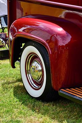 Photograph - Ford Pickup Fender by Dean Ferreira