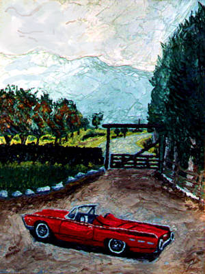 Ford Art Print by Stan Hamilton
