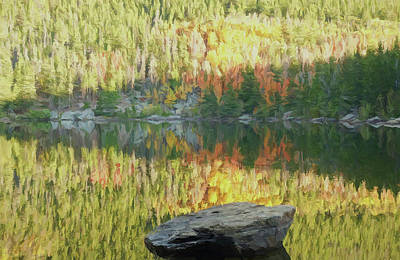 Painting - Forest Reflections by Dan Sproul