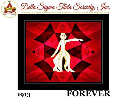 Forever Delta Art Print