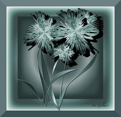 Digital Art - Forever Flowers by Iris Gelbart