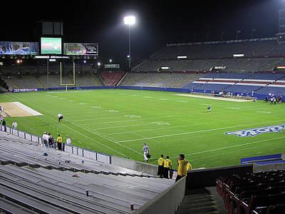 Photograph - Former Foxboro Stadium by Mike Martin