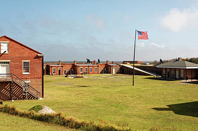 Photograph - Fort Clinch Parade by Sally Weigand