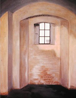 Painting - Fort Moultrie Lookout by Jean Ehler