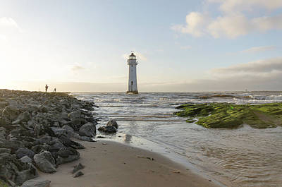 Photograph - Fort Perch Lighthouse  by Spikey Mouse Photography