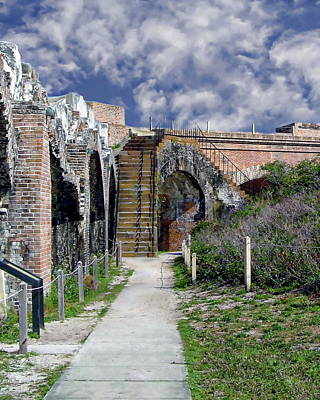 Photograph - Fort Pickens by Anthony Dezenzio