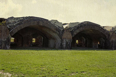 Photograph - Fort Pickens Arches by Laurie Perry