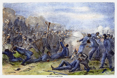 Fort Pillow Massacre, 1864 Art Print by Granger