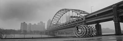 Fort Pitt Bridge Art Print by Matthew Angelo