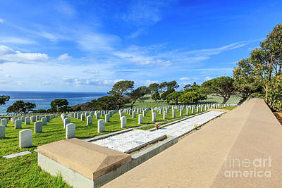 Photograph - Fort Rosecrans National Cemetery by Ben Graham