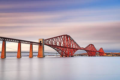 Forth Railway Bridge Art Print