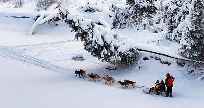 Winter Scenes Photograph - Forward by Ed Boudreau