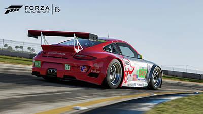 Transportation Digital Art - Forza Motorsport 6 by Super Lovely