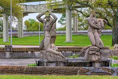 Photograph - Fountain Of The Four Winds 2 by Steve Harrington