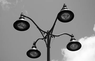 Photograph - Four Lamps by Rob Hans
