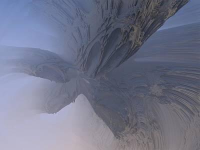 Digital Art - Fractal Structure 008 by Ernst Dittmar