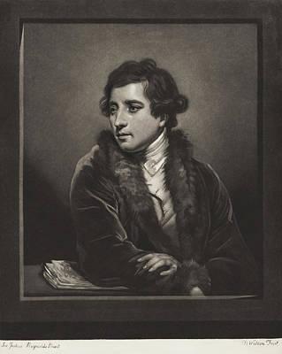 Painting - Francesco Bartolozzi by Thomas Watson after Sir Joshua Reynolds