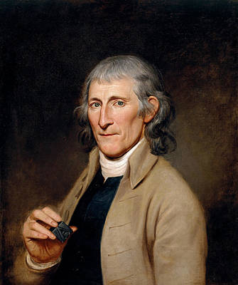 Painting - Francis Bailey by Charles Willson Peale