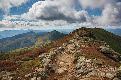 Photograph - Franconia Ridge Trail - White Mountains New Hampshire by Erin Paul Donovan