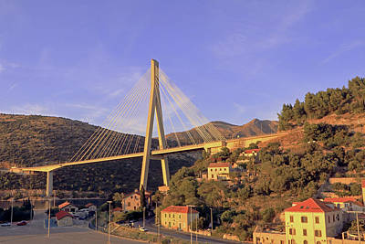 Photograph - Franjo Tudman Bridge by Tony Murtagh