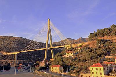 Photograph - Franjo Tudman Bridge by Tony Murtagh
