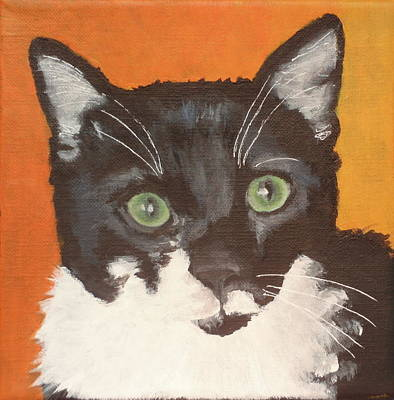 Painting - Frank by Carol Russell