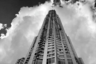 Frank Gehry High Rise Lower Manhattan Art Print by Robert Ullmann
