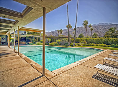 Sinatra House Photograph - Frank Sinatra's Twin Palms Estate by Mountain Dreams