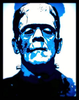 Frankenstein Digital Art - Frankenstein by John Springfield