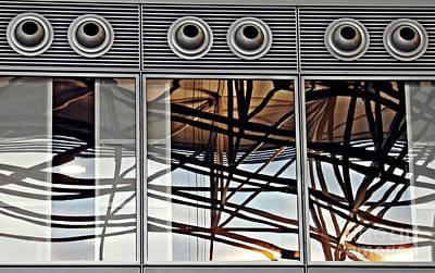 Photograph - Frankfurt Airport Abstract 3 by Sarah Loft