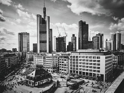 Black Is Beautiful Wall Art - Photograph - Frankfurt Am Main - Hauptwache by Pixabay