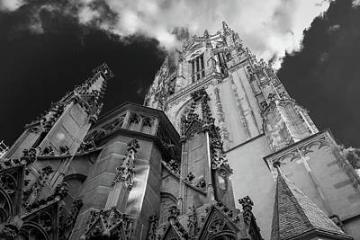 Photograph - Frankfurt Cathedral by Ross Henton