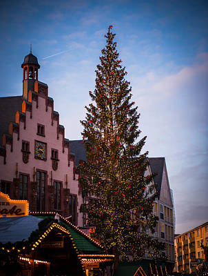 Photograph - Frankfurt Christmas Tree by Bill Howard
